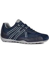 Geox RAVEX U923FB Hombre Zapatillas,mínimo,varón Zapatos Deportivos,Zapato con Cordones,