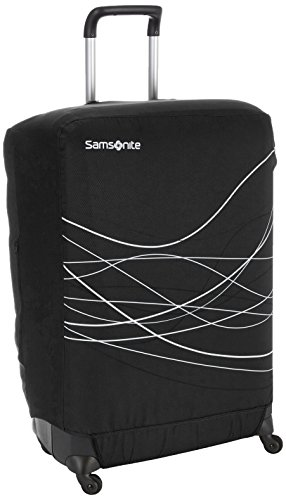 Samsonite Travel Accessories 5 - Foldable Luggage Cover M, Cover per Valigia, Black (Nero)
