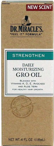 Dr Miracles Renforcer hydratant quotidien Gro Oil 120 ml (pack de 2)