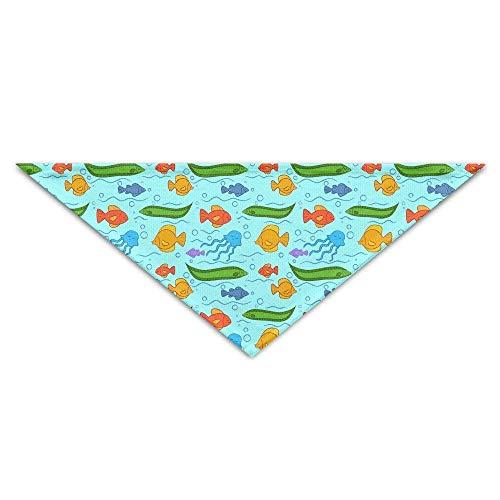 Meeres Des Kostüm Kreaturen - Rghkjlp Krake Fisch Meer Kreatur Haustier Hund Dreieck Kopftuch Bandana Lätzchen Halsbänder Halstuch