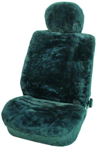 Rökü Sitzfläche: 100% Lammfell-Patchwork, Umrandung: 100% Polyacryl