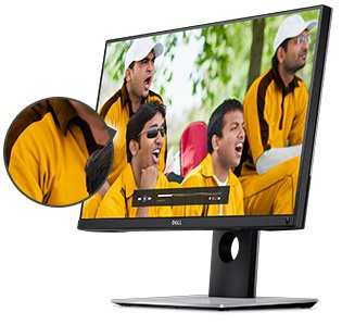 Buy Dell Ultrasharp UP2516D 25-Inch QHD (2560 x 1440DP) with Premier Colour (100% Adobe RGB, 100%sRGB, 100% REC 709, 98% DCI-P3) and LED Light Bar System, IPS (DP,mDP, 2 x HDMI) 210-AGTW Online