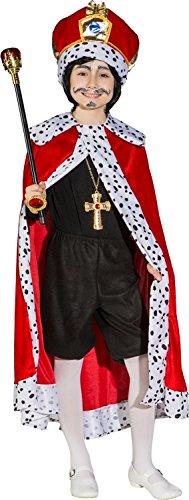 Orlob Kinder Kostüm Königsumhang zum König Karneval Fasching ()