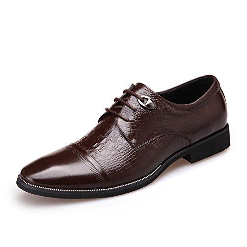 scarpe d'Inghilterra in autunno/Con abbigliamento di affari di scarpe/STRINGATE uomo-C Lunghezza piede=25.3CM(10Inch)