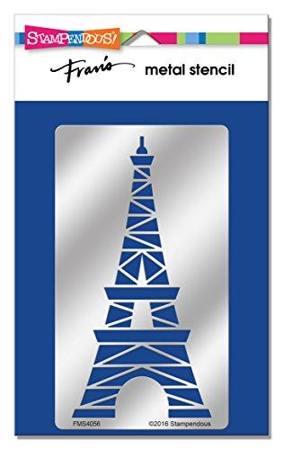Unbekannt Stampendous fms4056Eiffelturm Metall Schablone -