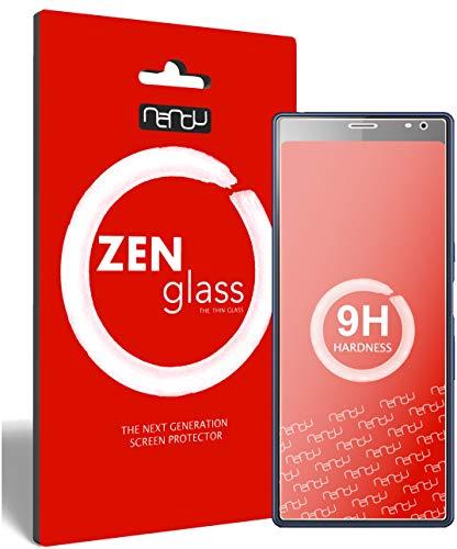 ZenGlass Flexible Glas-Folie für Sony Xperia 10 Panzerfolie I Display-Schutzfolie 9H I (Kleiner Als Das Gewölbte Display)