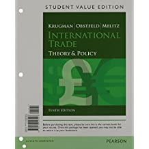 International Trade: Theory and Policy, Student Value Edition Plus New Myeconlab with Pearson Etext -- Access Card Package