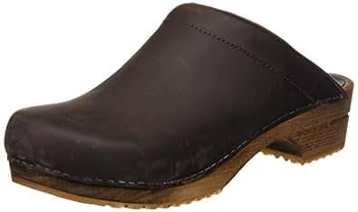 Sanita Crissy oil open 1200009, Chaussures mixte adulte - Marron, 36 EU