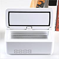 Insulin-Kühlbox Tragbare Fahrzeugdroge Interferon Auxin Mini-Kühlschrank Gefrierschrank preisvergleich bei billige-tabletten.eu