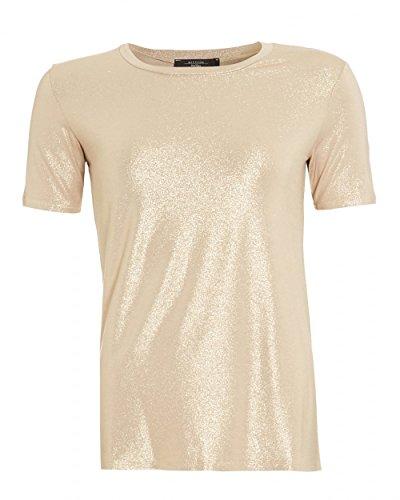 max-mara-weekend-womens-multi-a-t-shirt-gold-metallic-tee-m-light-gold