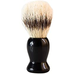 Imported Fashion Best Pure Bristles Shaving Brush and Plastic Handle for Men Shave