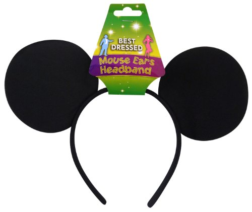 Image of Mouse Ears On Headband - Kids Accessory