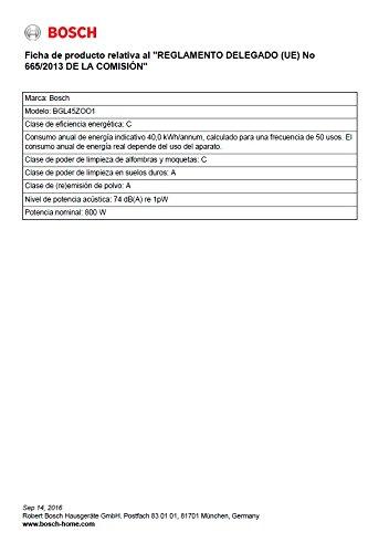 Bosch BGL45ZOO1 Bodenstaubsauger Zoo'o ProAnimal, EEK C mit Beutel, gründliche Reinigung von Tierhaaren, Animal 360 Paket, tornadorot - 3