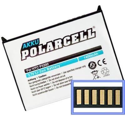 PolarCell Akku für O2 XDA Orbit (ARTE160) 1400mAh