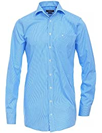 CASAMODA Herren Businesshemd Regular Fit extra lange Ärmel und Rumpf
