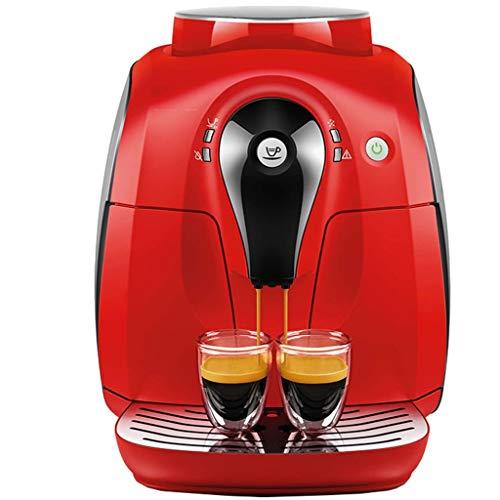 Boissons chaudes et machine à café automatique, 1400 W – Noir/rouge