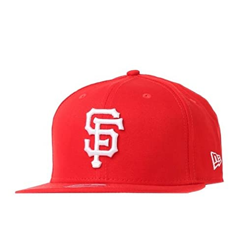New Era MLB San Francisco Giants League Basic 9FIFTY Snapback Baseball Cap (S/M)