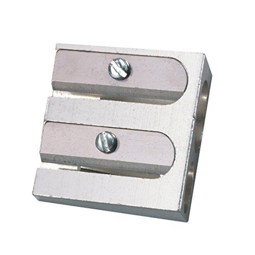 Herlitz Doppelanspitzer, Metall, für 2 Stiftdurchmesser