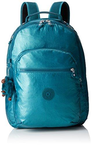 Kipling K15015H65 Clas Seoul Sac à dos 25 l, bleu émeraude métallique