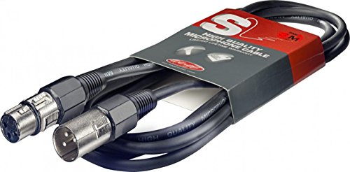 Stagg High Quality Mikrofonkabel 6 Meter - 1x XLR Male / 1x XLR Female
