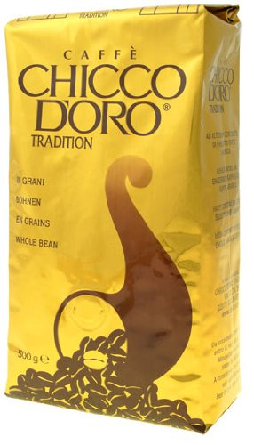 Chicco d'Oro Kaffee Tradition 100% Arabica Kaffee Bohnen 500g