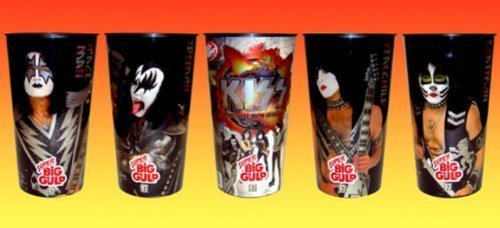 kiss-7-eleven-big-gulp-collectors-cups-set-of-4-by-7-eleven