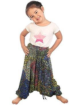 [Sponsorizzato]Lofbaz Bambini Ragazzi Ragazze Harem Pantaloni Aladdin Estate Tuta