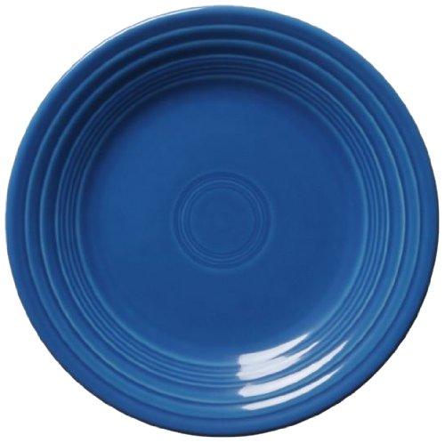 Fiesta Salad Plate, 7-1/4-Inch, Lapis by Homer Laughlin Fiesta Blue Plate