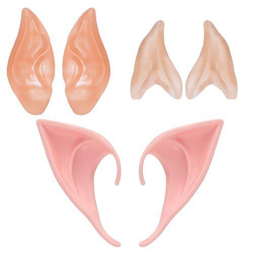 play Masks Ears Fairy Goblin Ears (Goblin Kostüme Erwachsene)
