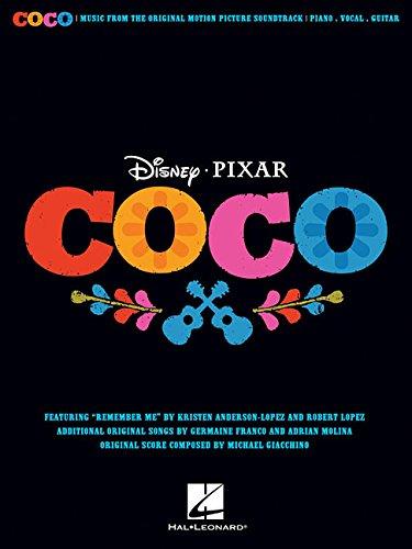 Disney Pixar's Coco -For Piano, Voice & Guitar-: Noten, Sammelband für Klavier, Gesang, Gitarre (Pianovocalguitar S)