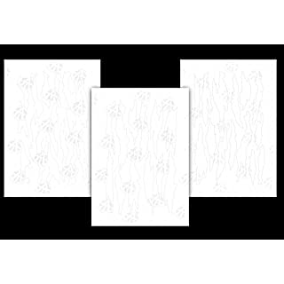 Säure Tactical® 3Pack Camouflage Easypeel Spray Paint Duracoat Camo Gun Schablone Torn Camo Set