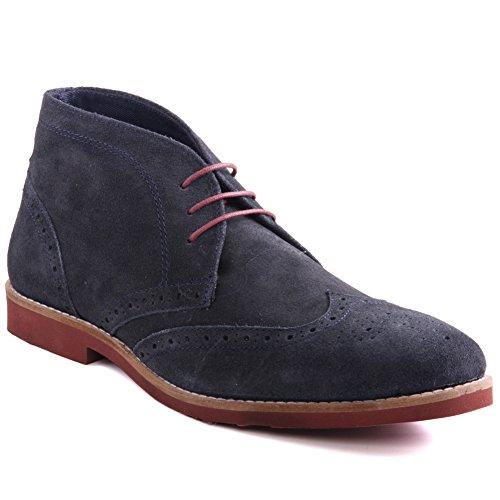Red Tape Unze Mens 'Foxhill' Wildleder Weste Stiefel UK Größe 7-11 - Foxhill (Akzent-stiefel)