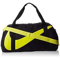 Nike Unisex-Child Duffel Bags, Grey/Yellow - Ba5567-080