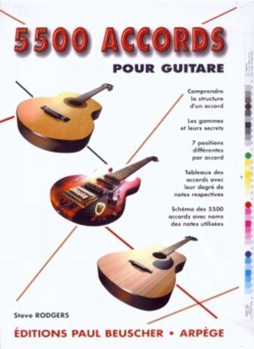 5500 accords pour guitare