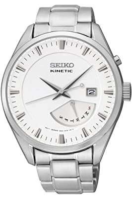 GENUINE SEIKO Watch CLASSIC Male KINETIC - srn043p1 de srn043p1