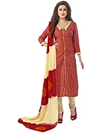 ZAFFAZ Unstitched Cotton Dress Material Free Size and Delivery GP7020