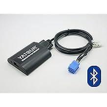Peugeot RD3 RB2 RM2 Van-bus - Adaptador Bluetooth para coche (interfaz digital AUX con puerto USB de carga de 3,5 mm de entrada de audio para Peugeot 1997-2007, Citroen 2001 – 2005 (RD3)