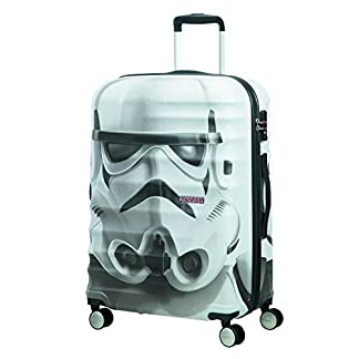 American tourister – Disney Wavebreaker Star Wars Stormtrooper, Maleta Spinner 67/24, 67 cm, 64 L, 4.5 KG Multicolour (Star Storm Trooper)