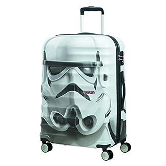 American tourister – Disney Wavebreaker Star Wars Stormtrooper, Maleta Spinner 67/24, 67 cm, 64 L, 4.5 KG Multicolour (Star Storm Trooper)
