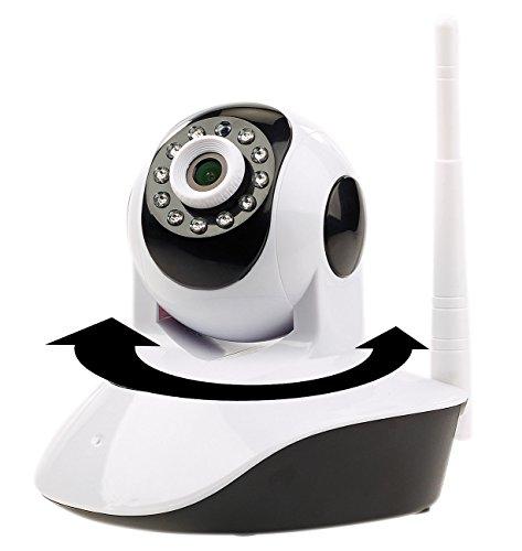 7links Webcam: Dreh- und schwenkbare WLAN-HD-IP-Kamera IPC-280.HD mit SD-Recording (WLAN Überwachungskamera)