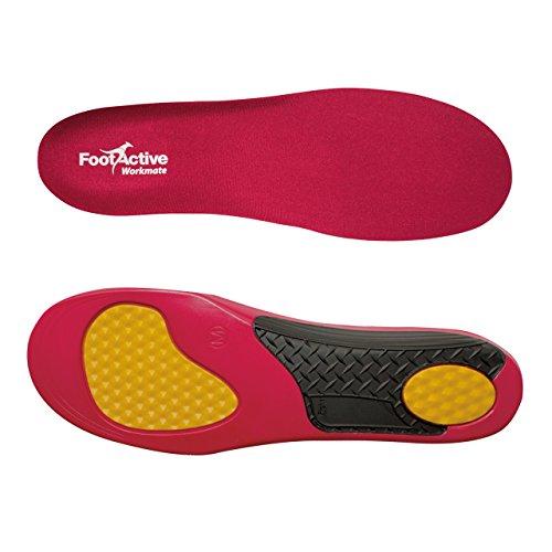 FootActive WORKMATE - Soporte del puente y amortiguación para el pie excelentes para personas que pasan todo el día de pie (L 44 -45)