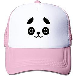 Fitty Area Cute Pandas kawaii Face Fashion Cap tiene One Size Black, color Rosa, tamaño Talla única