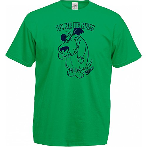 Vitamin T Official Muttley He He He Green T-Shirt