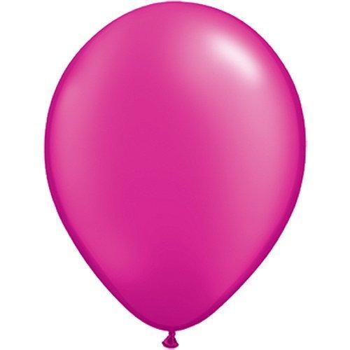 partydiscount24 10 x Luftballons Ø 30 cm | Freie Farbauswahl | 23 Ballon Farben (Pink)