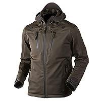 Seeland Hakwer shell hunting jacket, soft shell jacket, deer hunting jacket, hunting jacket, functional jacket for hunters, camouflage jacket, deer jacket, Pine Green, 50 (EU)