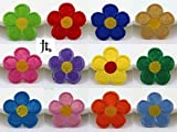 12pcs Flower Embroidered Iron On Patch M...