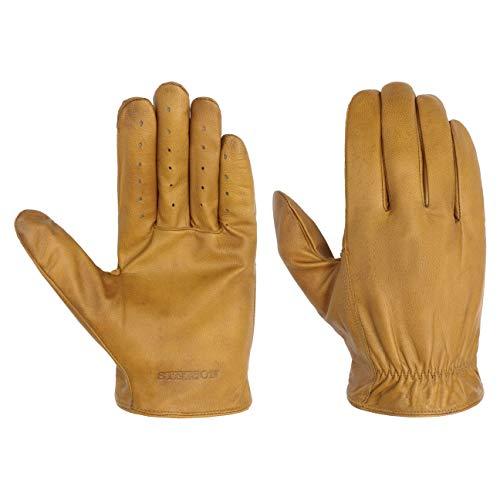 Stetson Goat-Nappa Lederhandschuhe Handschuhe Herrenhandschuhe Fingerhandschuhe Herren | Herbst-Winter | 9 HS cognac