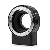 Viltrox NF-M1 Auto Focus Lens Mount Adapter Support VR EXIF Transmitting Compatible with Nikon F Mount Lens to Micro Four Thirds(MFT, M4/3) Camera