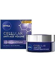 NIVEA Anti-Falten Nacht-Gesichtspflege, Cellular Anti-Age 3-Zonen Nachtpflege, 1er Pack (1 x 50 ml)