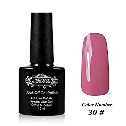 Perfect Summer UV Led Gel Nail Polish Color 10ml Soak Off Gel Manicure product Peach beige